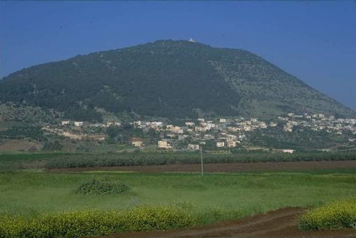 The Mount of the Transfiguration.